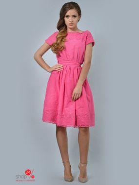Платье LILA KASS, цвет фуксия
