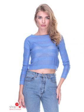 Джемпер Bershka, цвет голубой