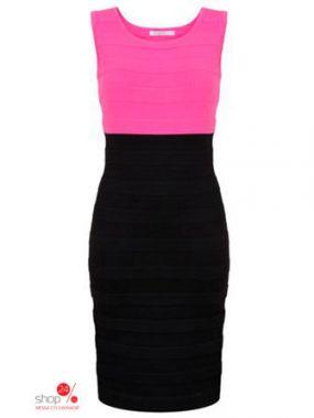 Платье Taranko, цвет розовый, черный