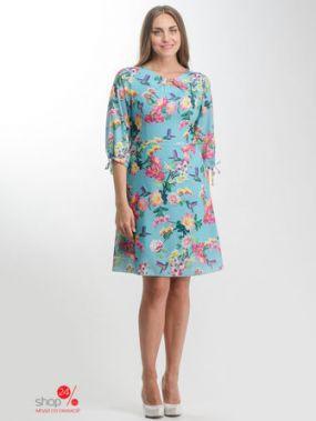 Платье Nila, цвет бирюзовый