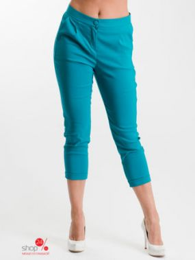 Брюки Milana Style, цвет зеленый
