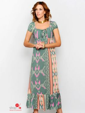 Платье HHG, цвет мультиколор
