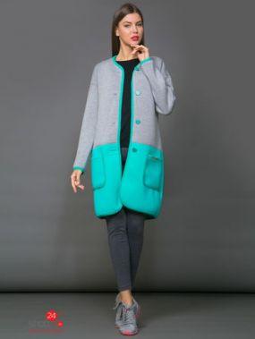 Жакет La Via Estelar, цвет бирюзовый