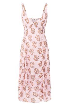 Платье с принтом Acne Studios