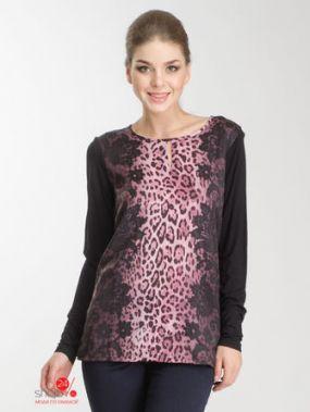 Лонгслив Olsen, цвет черный, розовый