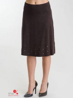 Юбка Olsen, цвет темно-коричневый