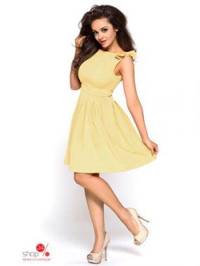 Платье KarteS-Moda, цвет желтый