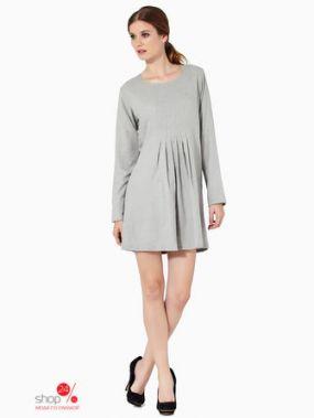 Платье Mauna Barcelona, цвет серый