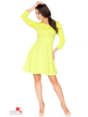Платье RaWear, цвет желтый