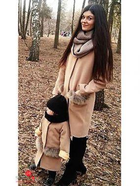 Пальто MiLiLook, цвет бежевый