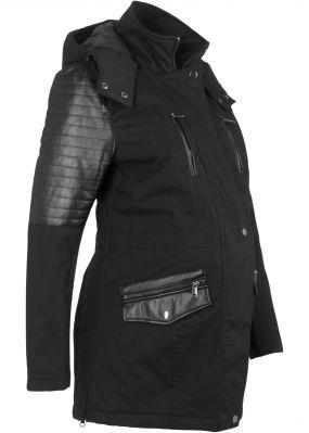 Куртка-парка на ватиновой подкладке, для беременных