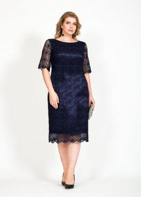 Вечернее кружевное платье RB114B