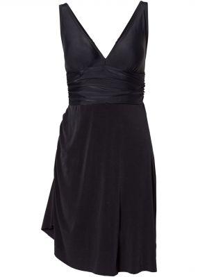 Купальник-платье с асимметричной юбкой