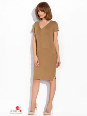 Платье Numinou, цвет темно-бежевый
