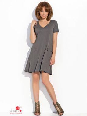 Платье Numinou, цвет темно-серый