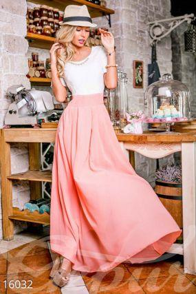 Воздушное платье-макси