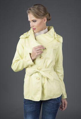 Женская ветровка Visconf желтого цвета