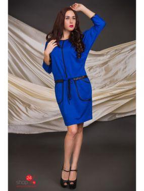 Платье AGIO-Z, цвет синий, черный