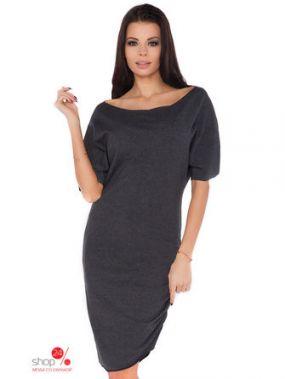 Платье RaWear, цвет темно-серый