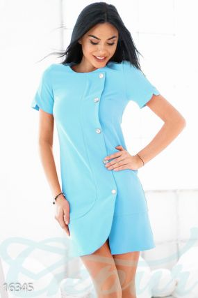 Оригинальное мини-платье