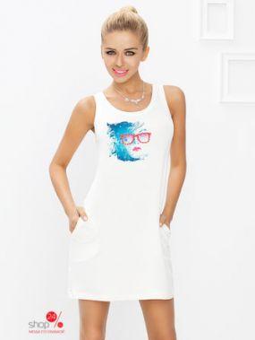 Ночная рубашка Dkaren, цвет экрю