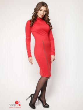 Платье Lavana Fashion, цвет красный