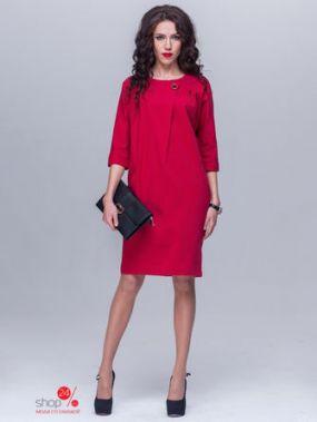 Платье Jet, цвет темно-красный