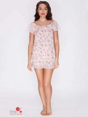 Пижама Vis-a-vis, цвет розовый