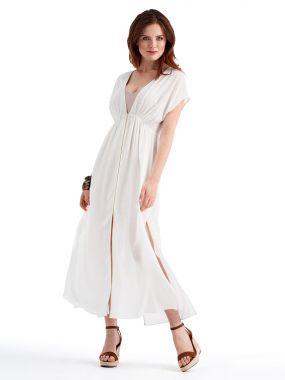 Платье POTIS&VERSO Фресия 395R-W9 цвет белый