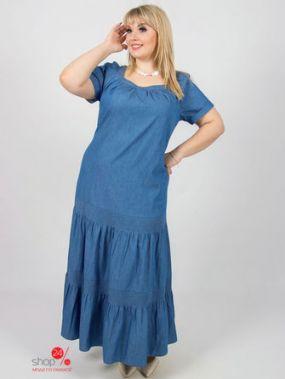 Платье Eva Graffova, цвет голубой