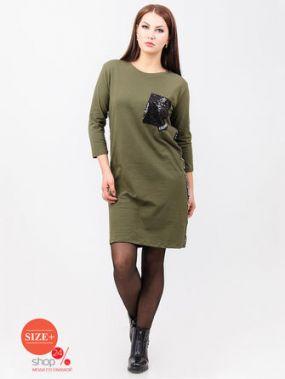 Платье Bluzka, цвет хаки