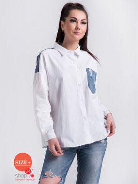 Блуза Bluzka, цвет белый