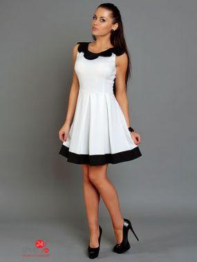 Платье IVONNE FASHION, цвет белый, черный