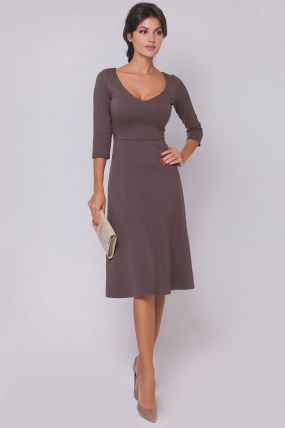 приталенное платье 170420B