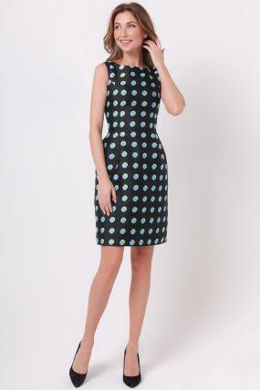 платье в горошек 170724B