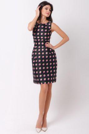 платье в горошек 170724P