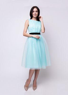 Платье из фатина 180103B