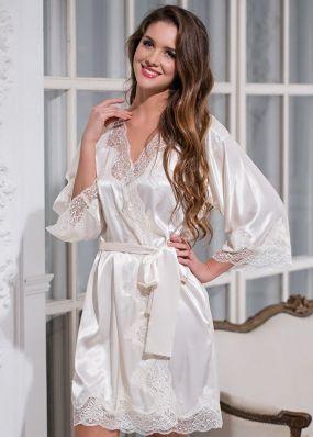 шелковый халат 3183