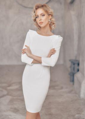 Платье-футляр для невесты 320-3