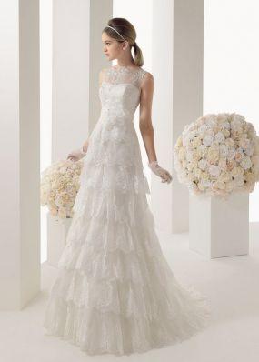 Кружевное свадебное платье ROSA CLAR? 7A68