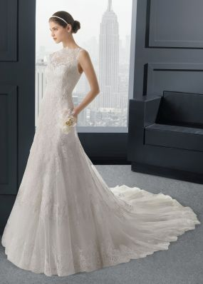 Кружевное свадебное платье-русалка ROSA CLAR? 7A88