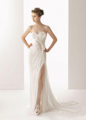 Свадебное платье из шифона ROSA CLAR? 7K32