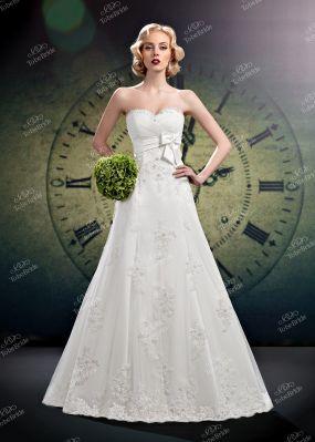 Свадебное платье с декором C0355Y1