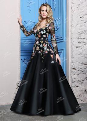 Вечернее платье с декольте CH0083B