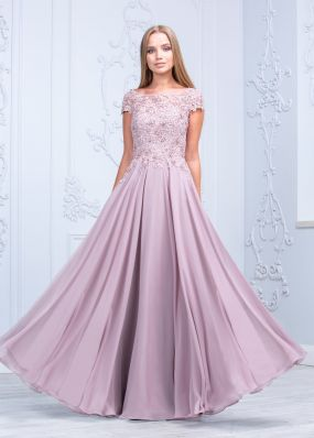 Шифоновое вечернее платье CH101B