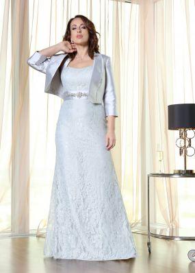 Длинное вечернее платье-бюстье FA085B