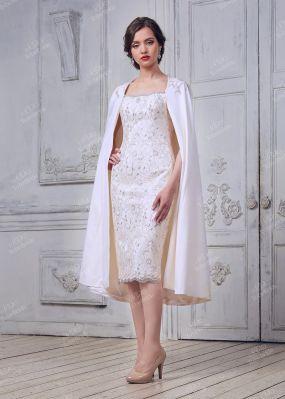 Свадебное платье, расшитое пайетками FA086