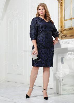 Вечернее платье из гобелена JZ002B