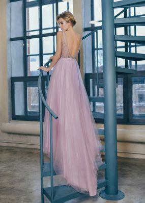 Вечернее платье с камнями и бисером MC0118B