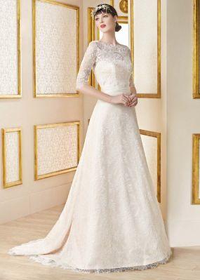 Кружевное свадебное платье MANU GARCIA MG0813